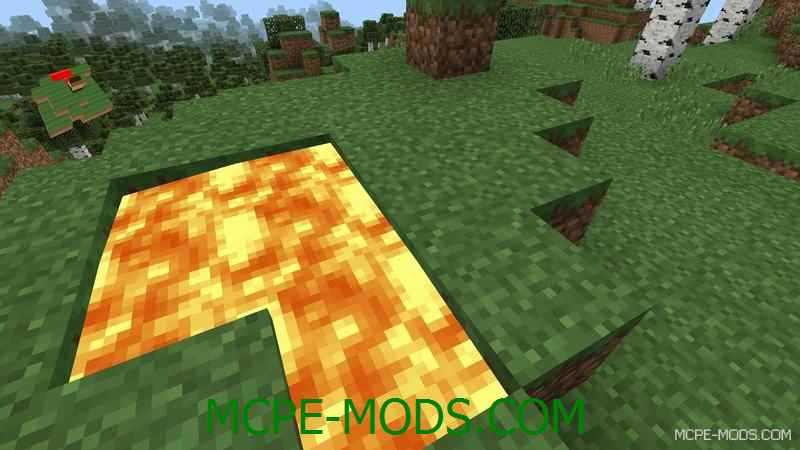 Мод 3D Minimap для Minecraft PE 0.14.0