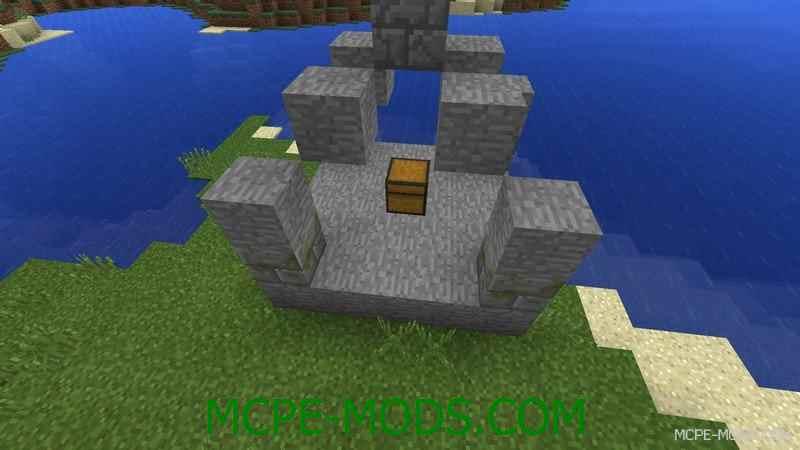 Мод Ruins для Minecraft PE 0.14.0