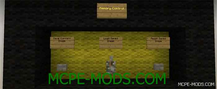 Карта Controllable Display для Minecraft PE 0.14.0