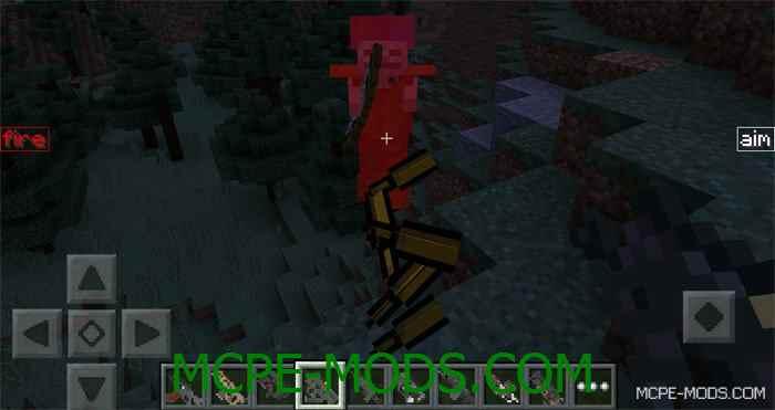 Мод Black Ops 3 Weapons для Minecraft PE 0.14.0 (дополнение к DesnoGuns Mod)