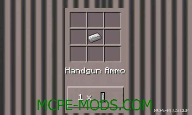 Мод на оружия для Майнкрафт пе 0.14.0