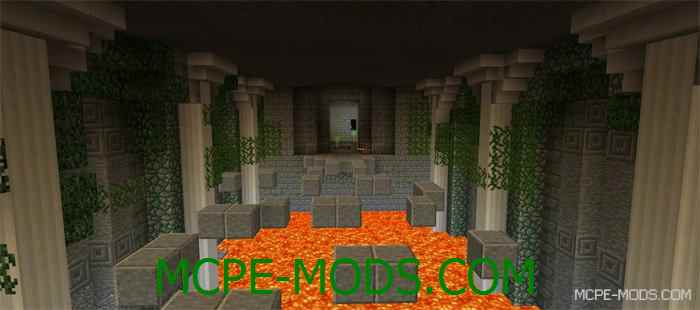 Карта Tomb Crafter 3 для Minecraft PE 0.14.0