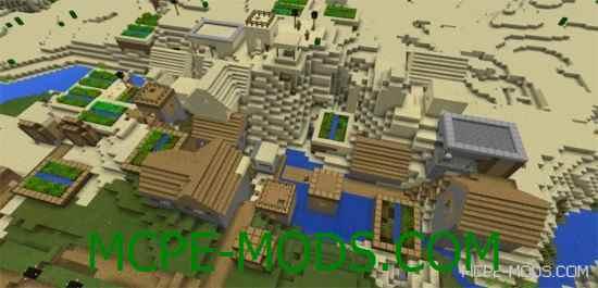 Сид на Майнкрафт 0.14.0 на город и машин