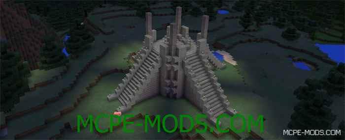 Карта Chronicles of Narnia для Minecraft PE 0.14.0, Хроники Нарнии для Майнкрафт