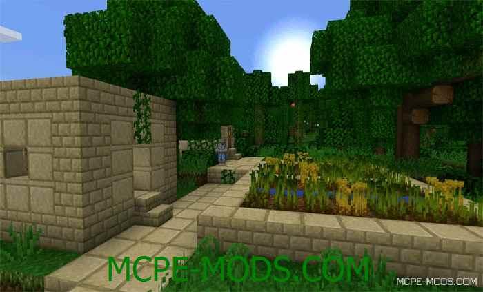 Текстуры Jungle Ruins на Minecraft PE 0.14.0