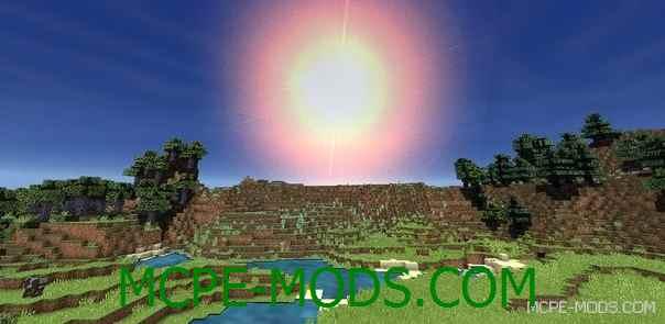 Шейдеры Reality Revolx на Minecraft PE 0.14.0