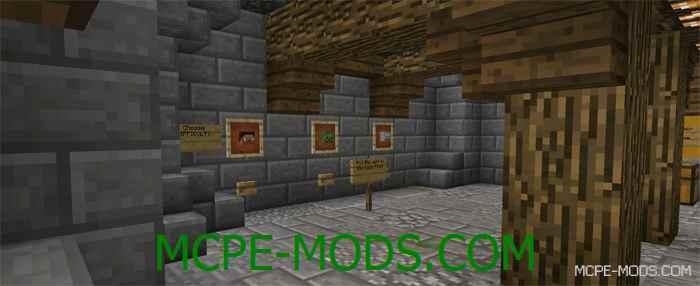 Карта Wolf Run Remastered на Minecraft PE 0.14.1