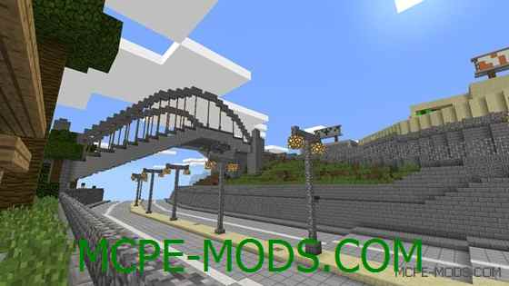 Карта GTA San Andreas Hunger Games на Minecraft PE 0.14.0