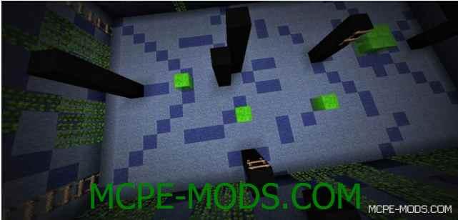 Паркур-карта Ultimate Slime на Minecraft PE 0.14.0