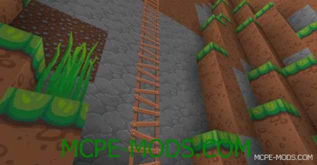 Текстур пак Dragon Dance на Minecraft PE 0.14.0