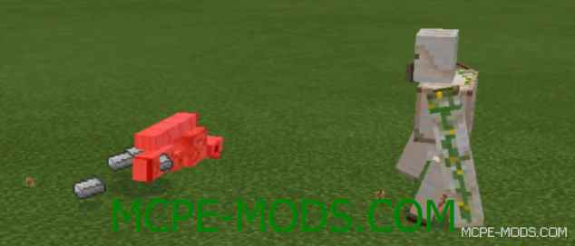 Мод Mob Battle на Minecraft PE 0.14.0