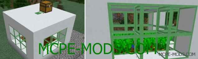 Мод Big Machines на Minecraft PE 0.14.0