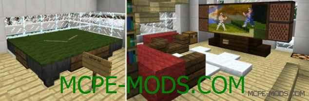 Карта Modern Redstone House на Minecraft PE 0.14.0