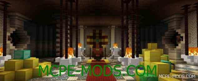 Карта Tomb Crafter на Minecraft PE 0.14.0