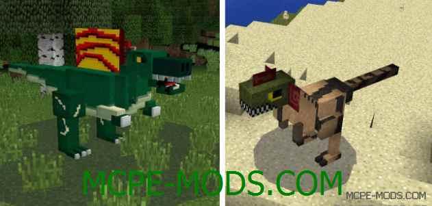 Мод Jurassic Pocket на Minecraft PE 0.15.3/0.15.2/0.15.1/0.15.0/0.14.3/0.14.1/0.14.0/0.13.1