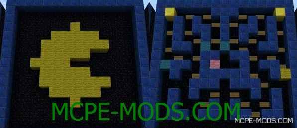 Мод Arcade на Minecraft PE 0.14.0