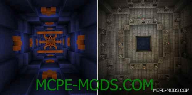 Карта Mega Dropper 4 на Minecraft PE 0.14.0