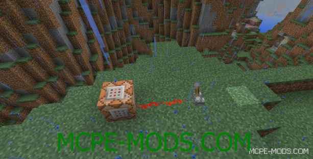 Мод Command Blocks на Майнкрафт ПЕ 0.14.0