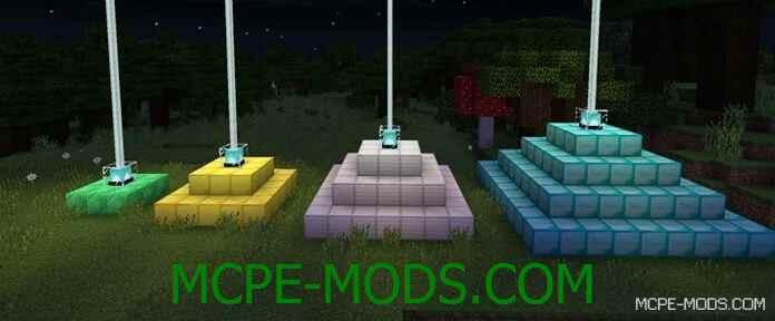 Мод на маяк Beacon PE на Майнкрафт 0.15 скачать бесплатно