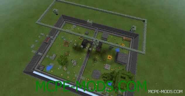 Карта Arena Archers на Майнкрафт 0.14.0 / 0.14.1 / 0.14.2 / 0.14.3 скачать