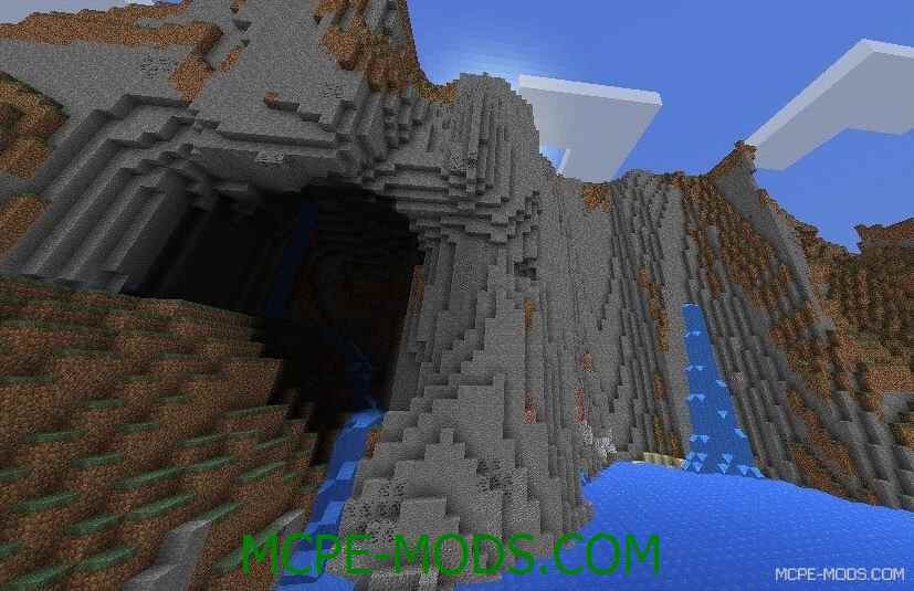 Сид на высокие и экстремальные горы для Майнкрафт ПЕ 0.14.0 / 0.14.1 / 0.14.2 / 0.14.3