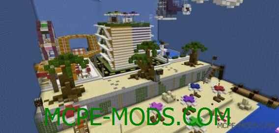 Карта Murder Mystery: Beach Resort на Майнкрафт 0.14.0 / 0.14.1 / 0.14.2 / 0.14.3 скачать