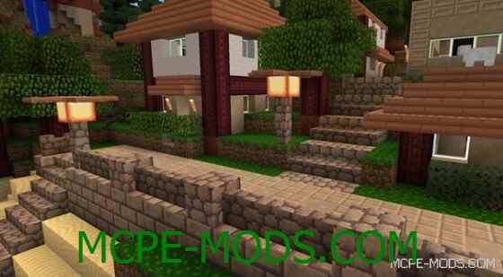 Скачать текстуры Flourish PE на Minecraft 0.14.0 / 0.14.1 / 0.14.2 / 0.14.3