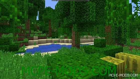 Сид на огромные джунгли для Майнкрафт ПЕ 0.14.0 / 0.14.1 / 0.14.2 / 0.14.3