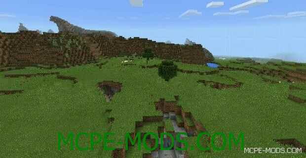 Сид на огромное количество пещер и карликовое болото для Майнкрафт ПЕ 0.14.0 / 0.14.1 / 0.14.2 / 0.14.3