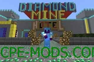 Сервер DiamondMine 0.14.0 / 0.14.1 / 0.14.2 / 0.14.3 с мини играми