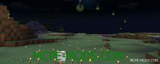 Мод Throwable Torches 0.15