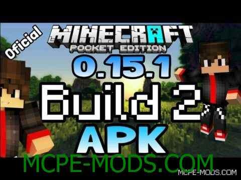 Скачать Minecraft Pocket Edition 0.15.1 Build 2 на Андроид