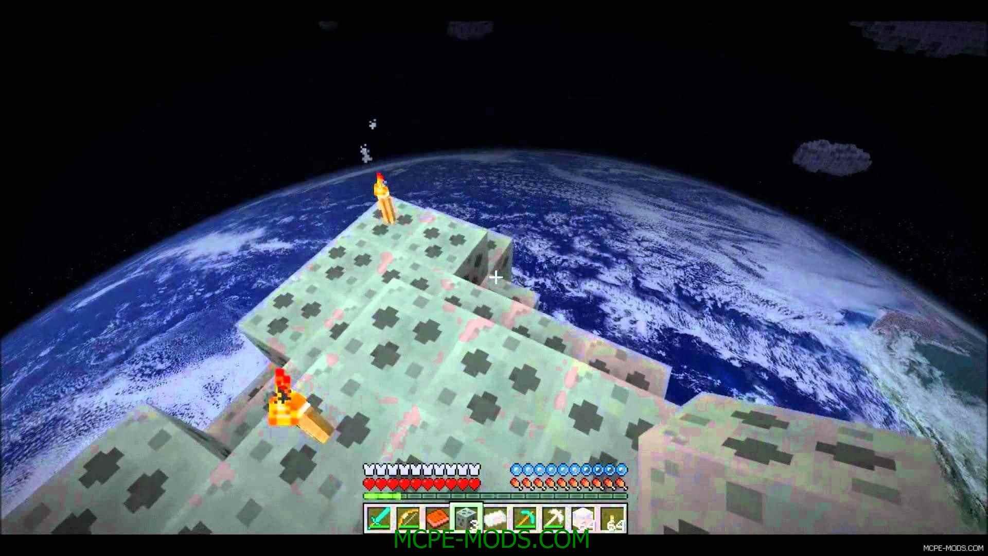 скачать карту для minecraft pocket edition на луну