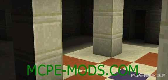 Сид Захороненный Храм и песчаная деревня для Майнкрафт ПЕ 0.14.0 / 0.14.1 / 0.14.2 / 0.14.3 на замок
