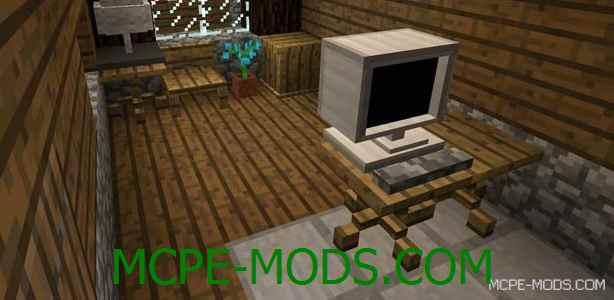 Мод на мебель на Майнкрафт 0.15.0 / 0.15.1 / 0.15.2 скачать бесплатно