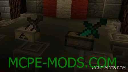 Мод Sword Pedestal на Майнкрафт 0.15.0 / 0.15.1 / 0.15.2 скачать бесплатно