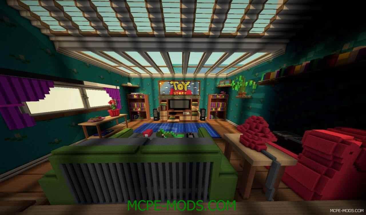 Скачать карту Toy Story для Майнкрафт 0.15.0 / 0.15.1 / 0.15.2 на Андроид на русском