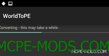Софт WorldToPe для Minecraft PE 0.15.3, 0.15.2, 0.15.1, 0.15.0, 0.14.3, 0.14.1, 0.14.0