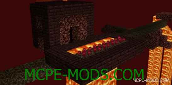 Мод Nether Villages 0.15.0 / 0.15.1 / 0.15.2 / 0.15.3 / 0.15.4