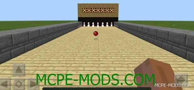 Мод Bowling на Майнкрафт 0.15.0 / 0.15.1 / 0.15.2 / 0.15.3 / 0.15.4 скачать бесплатно