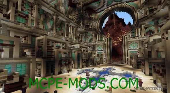 Карта The Fall of Heaven на Майнкрафт 0.14.0 / 0.14.1 / 0.14.2 / 0.14.3 скачать