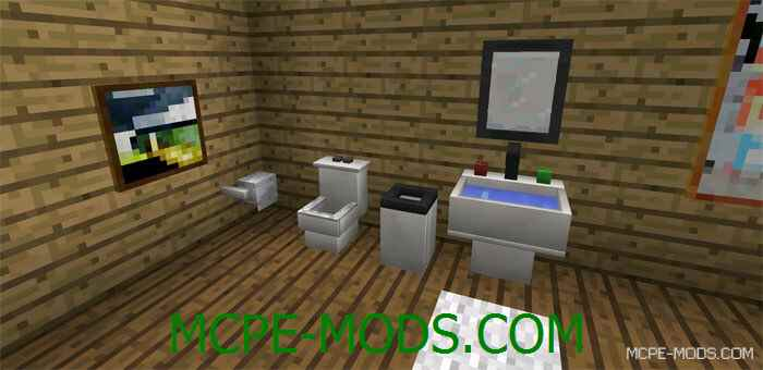 моды на майнкрафт 0.15.6 на мебель