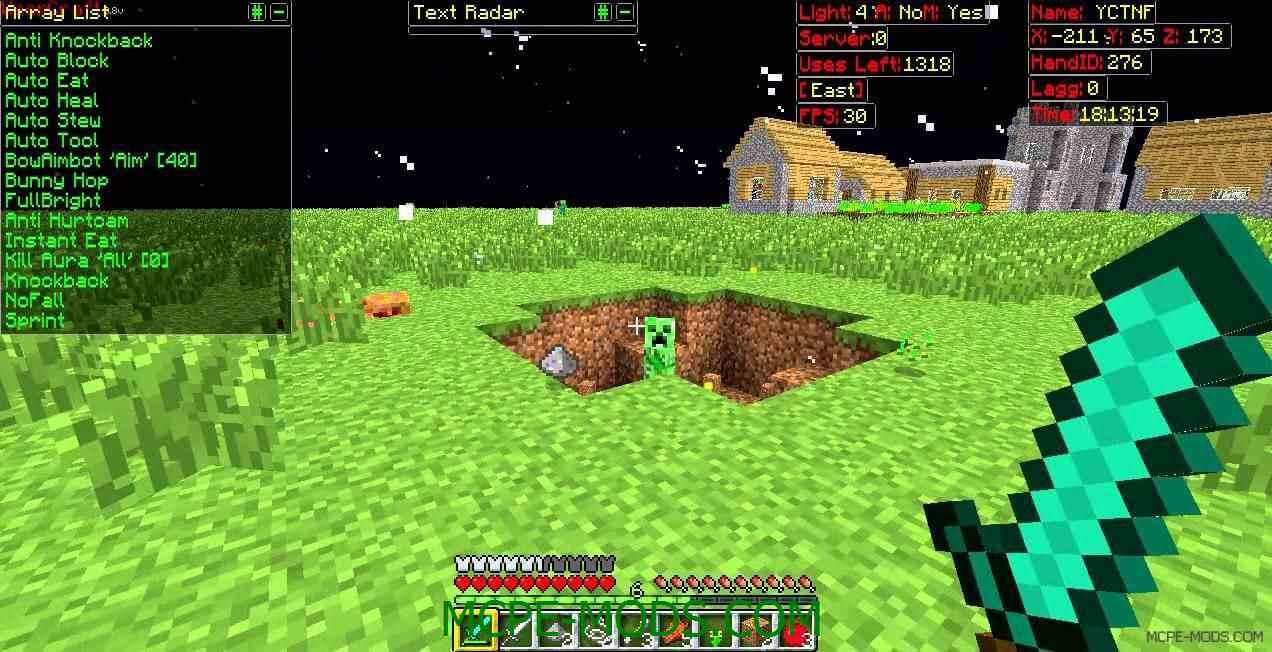 чит Килаура для Minecraft PE 0.15.6 0.15.6