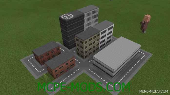 Текстур пак Mini City для Майнкрафт ПЕ 0.15.9, 0.15.7, 0.15.6, 0.15.4