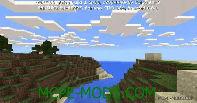 Сид на красивые горы в Майнкрафт 0.16.0
