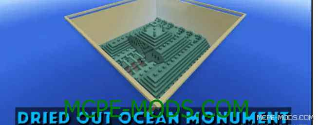 Карта Dried Out Ocean Monument 0.16.0
