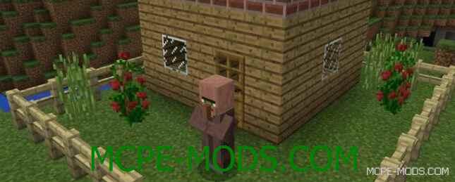 Мод Villager Agent для Minecraft PE 0.16.0 скачать бесплатно