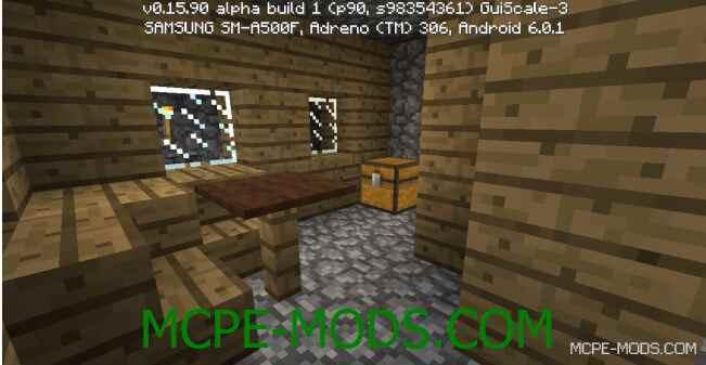 Сид Деревня с кузницей для Minecraft PE 0.16.0