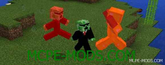Мод Humanoid Creeper Friend для Minecraft PE 0.16.0 скачать бесплатно