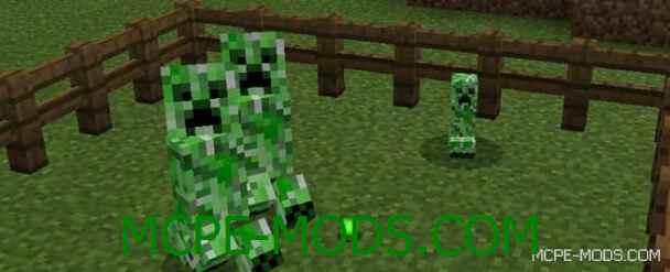 Мод More Baby Mobs для Minecraft PE 0.16.0 скачать бесплатно
